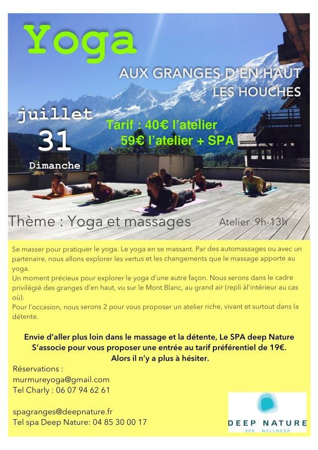 workshop 31 juillet